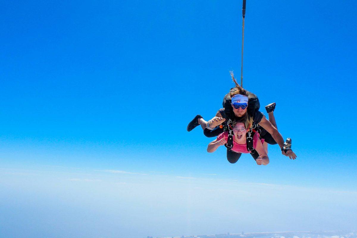 Tandem Skydiving over St. Louis, MO at Skydive STL