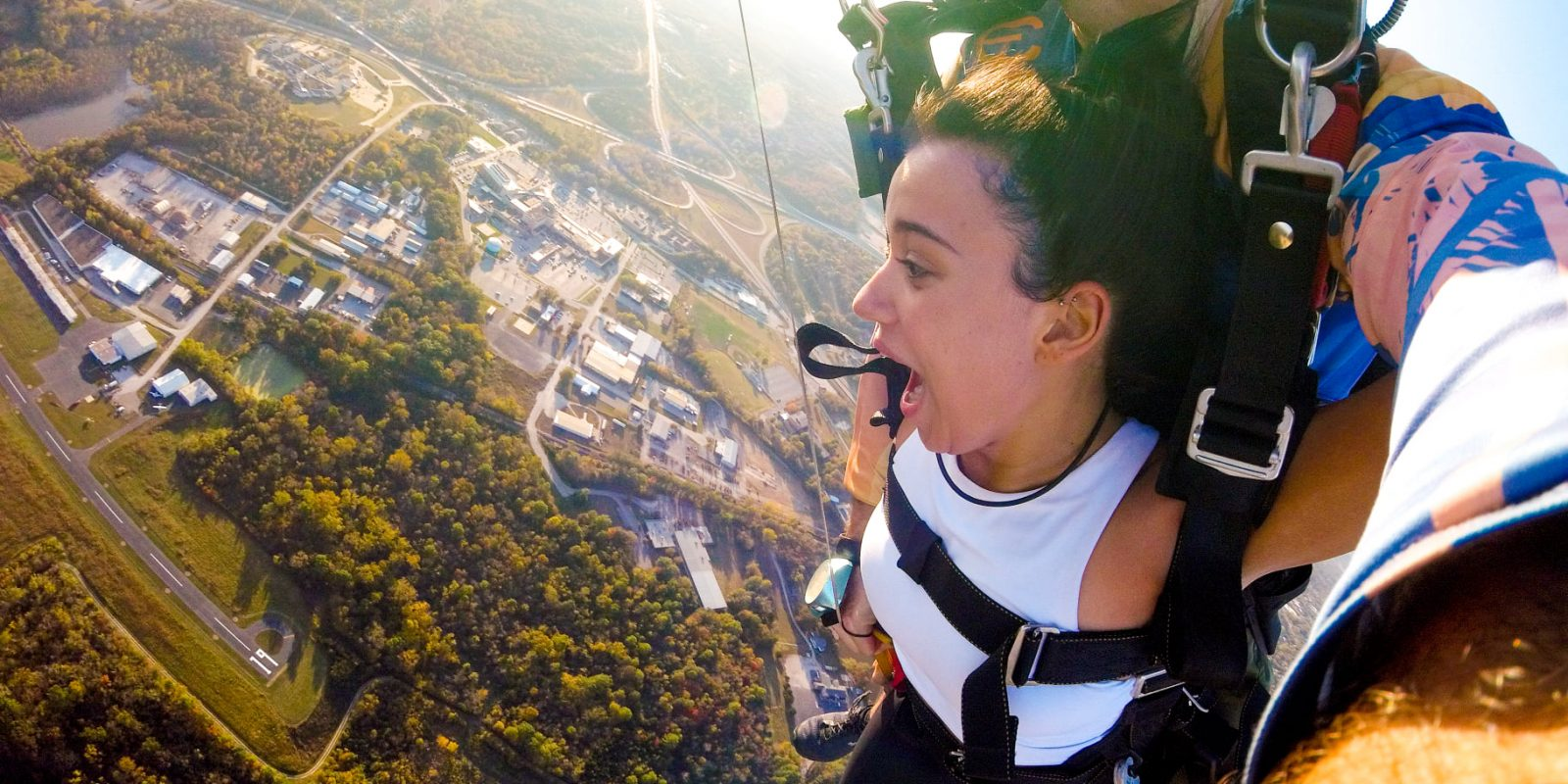 Experience the gateway to the west by skydiving at Skydive St Louis near Chicago