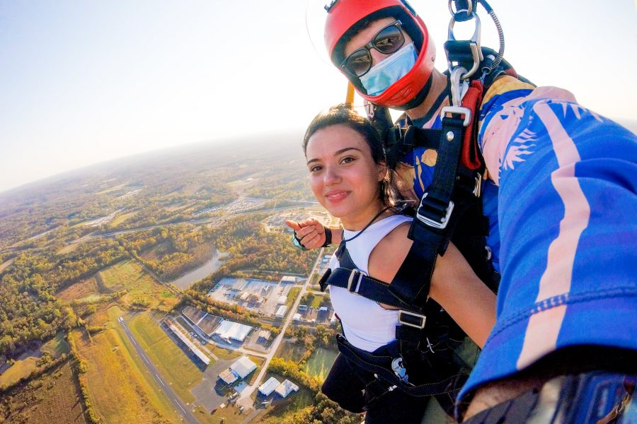Best time of year to go skydiving at Skydive St Louis near Chicago