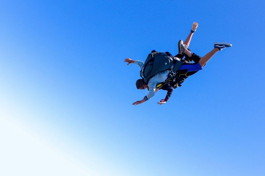 A tandem skydive with an experienced instructor at Skydive STL in St. Louis